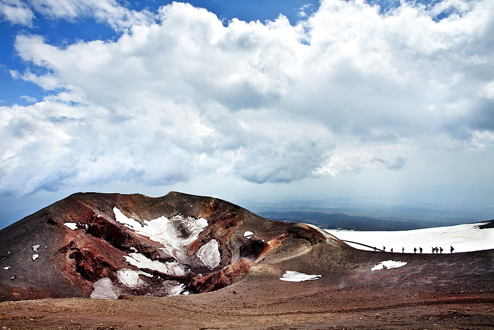 Crater, Mount Etna, Sicily, Italy