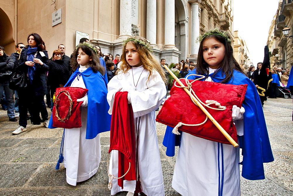 God friday procession, Trapani, Sicily, Italy