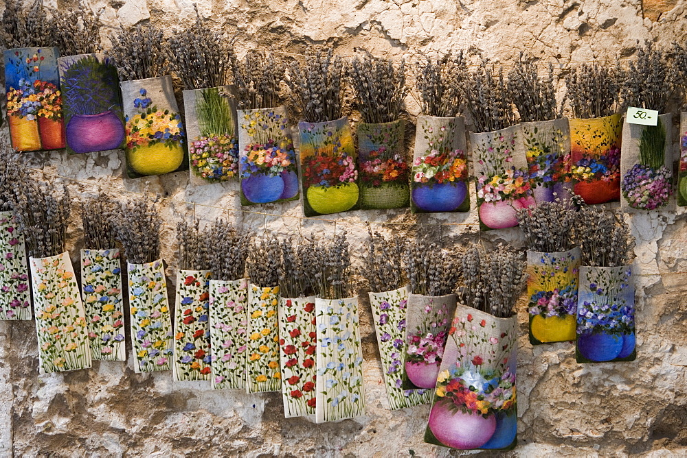 Dried Lavender for sale, Rovinj, Istria, Croatia