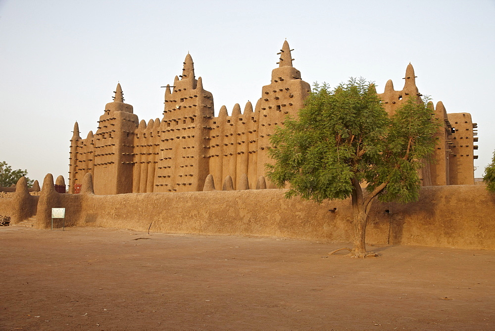 Great mosque of Djenne, Djenne, Mali, Africa