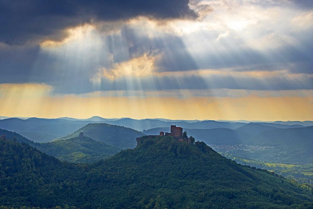 Trifels castle, Anebos castle, Annweiler, Rhineland-Palatinate, Germany