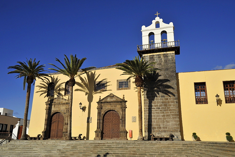 church Nuestra Senora de los Angeles at Garachico, Northwest Tenerife, Spain