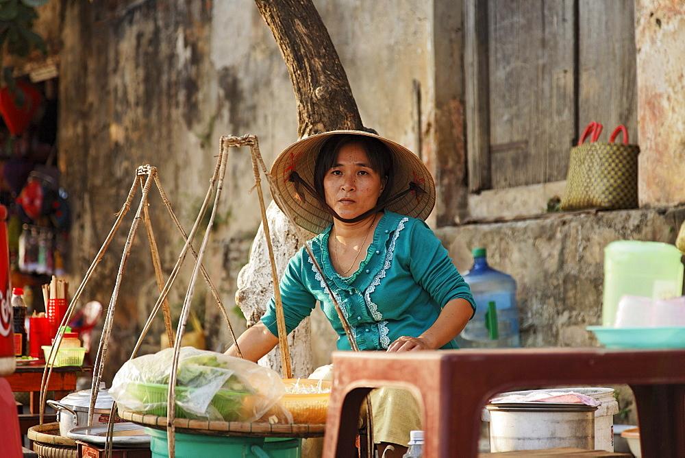 Street cookshop, Hoi An, Annam, Vietnam