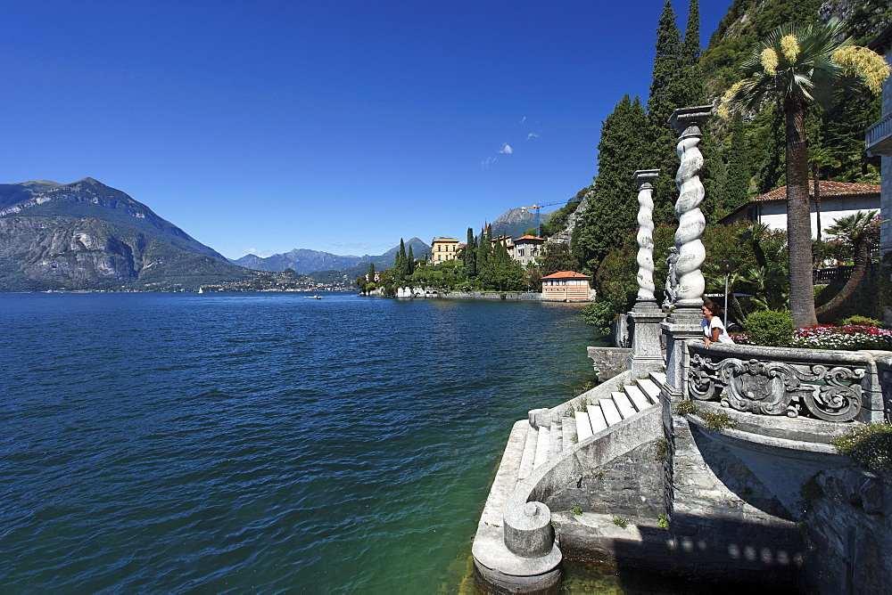 Lakeside, Villa Cipressi, Varenna, Lake Como, Lombardy, Italy