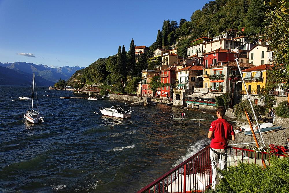 Lakeside, Varenna, Lake Como, Lombardy, Italy