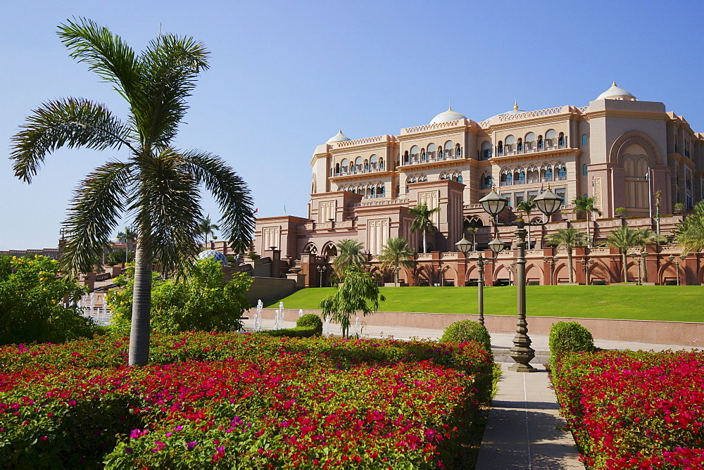 Emirates Palace Hotel, Abu Dhabi, United Arab Emirates, UAE