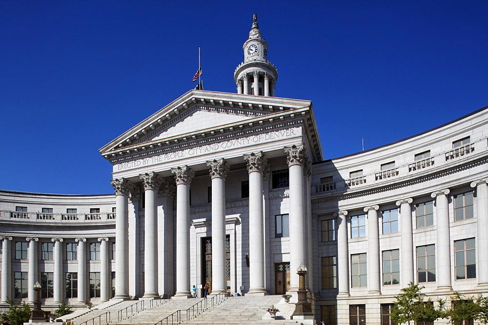City and County Building, Denver, Colorado, USA, North America, America