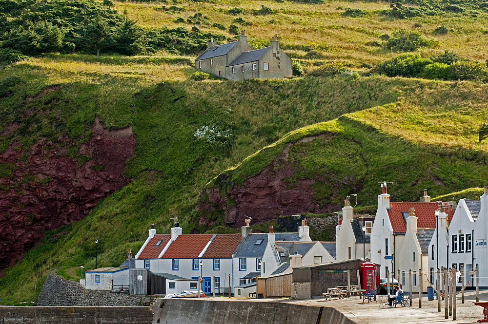The village of Penang, Aberdeenshire, Scotland