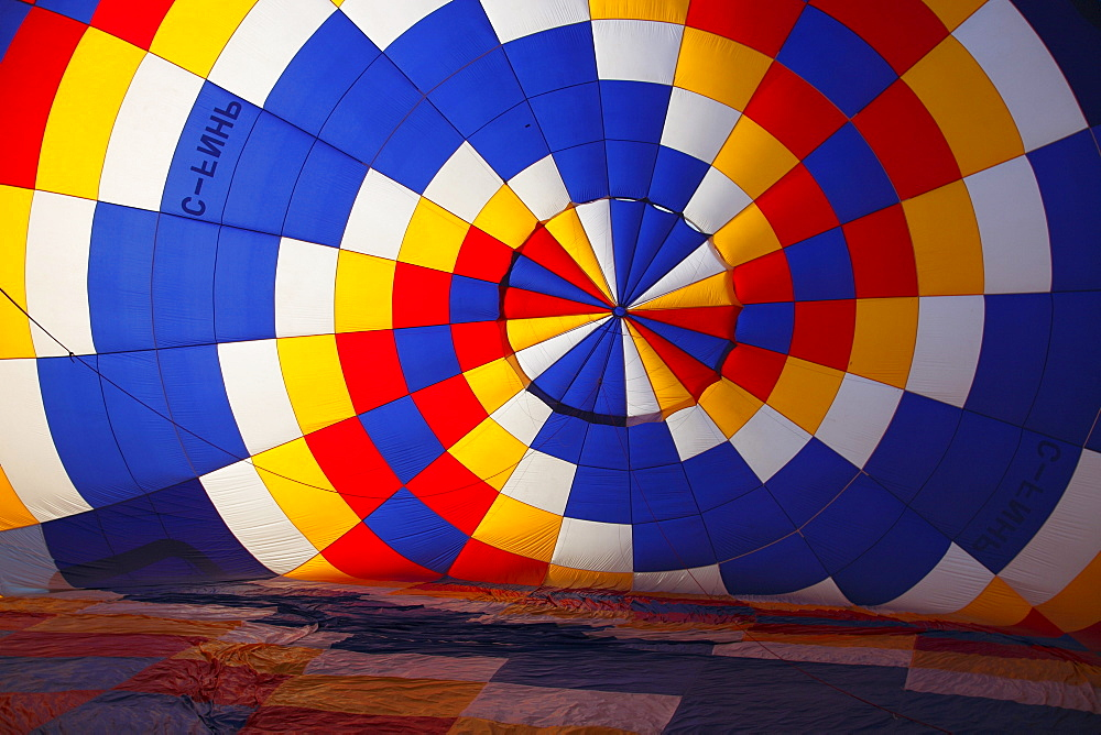 Ballooning festival at Saint Jean de Richelieu, Quebec, Canada