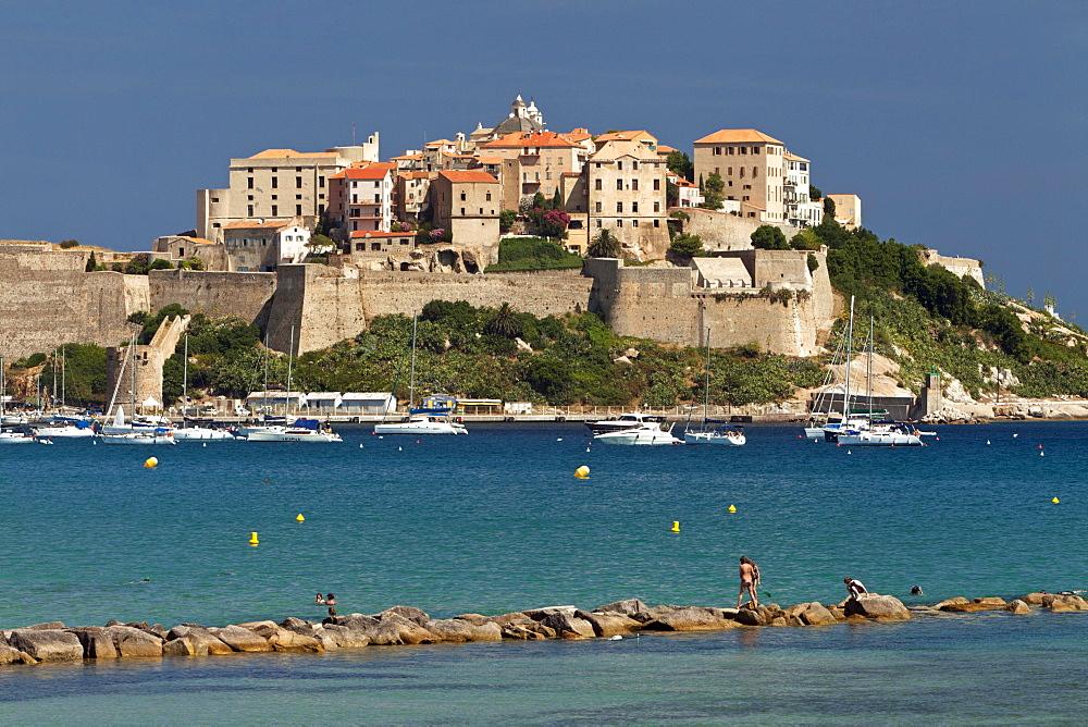 The Citadelle, Calvi, Corsica, France