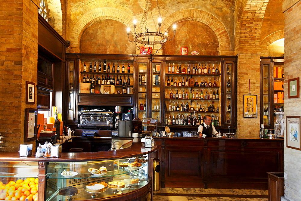 Cafe Svizzero, Cagliari, Sardinia, Italy