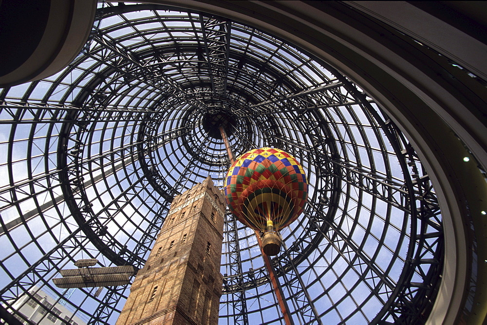 Shot Tower & Melbourne Central, Melbourne Victoria, Australia