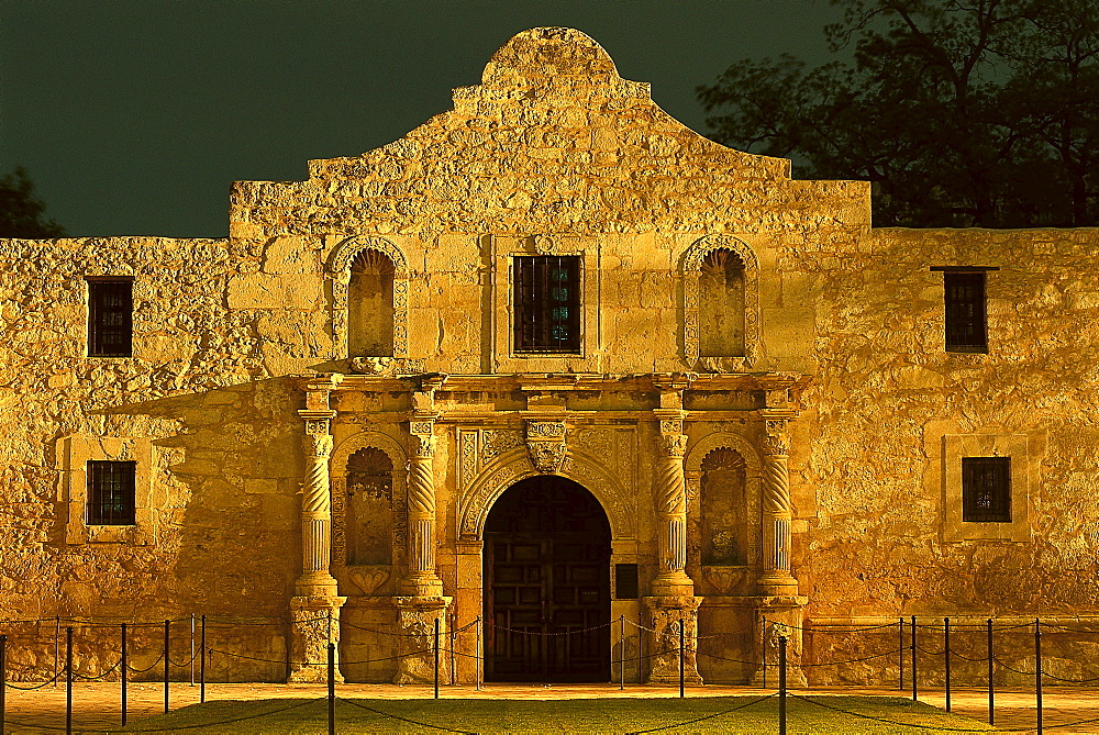 The Alamo, San Antonio, Texas USA - 1113-52096
