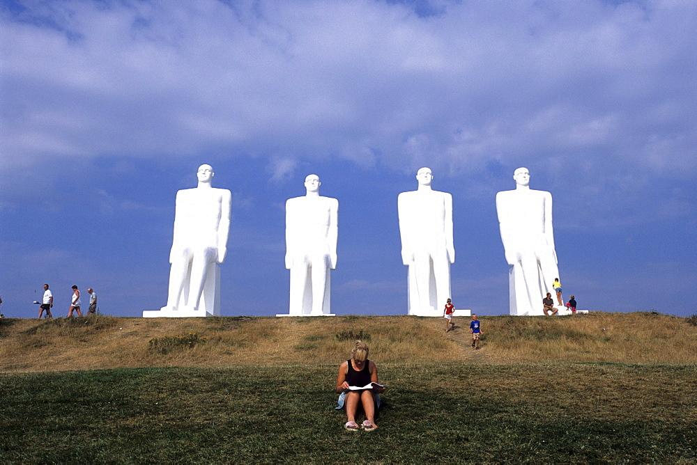 Monument, The Men at Sea, Mennesket ved Havet, Esbjerg, Central Jutland, Denmark