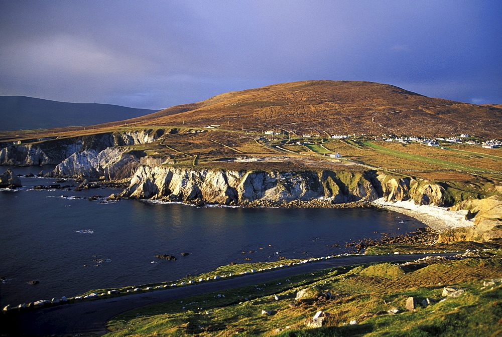 Atlantic Drive along the coast, Dooega, Achill Island, Co. Mayo, Ireland