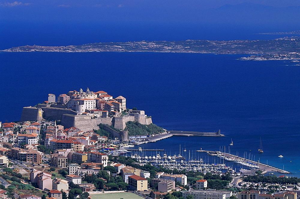 Citadel, Calvi, Corsica, France