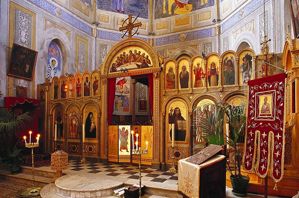 Icon, Eglise Greque, Corsica, France
