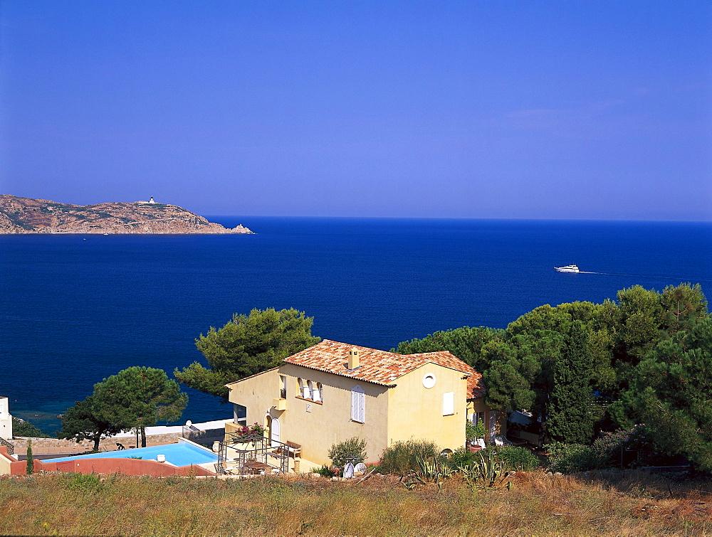 Summer residence, Calvi Corsica, France