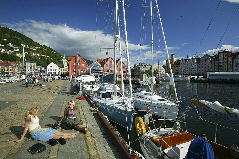 Vagen, Bergen, Hordaland, Norway