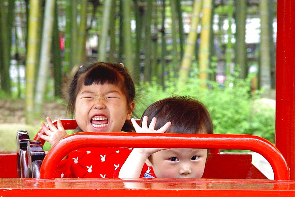 Bekoning kids, Shanghai, China - 1113-56768