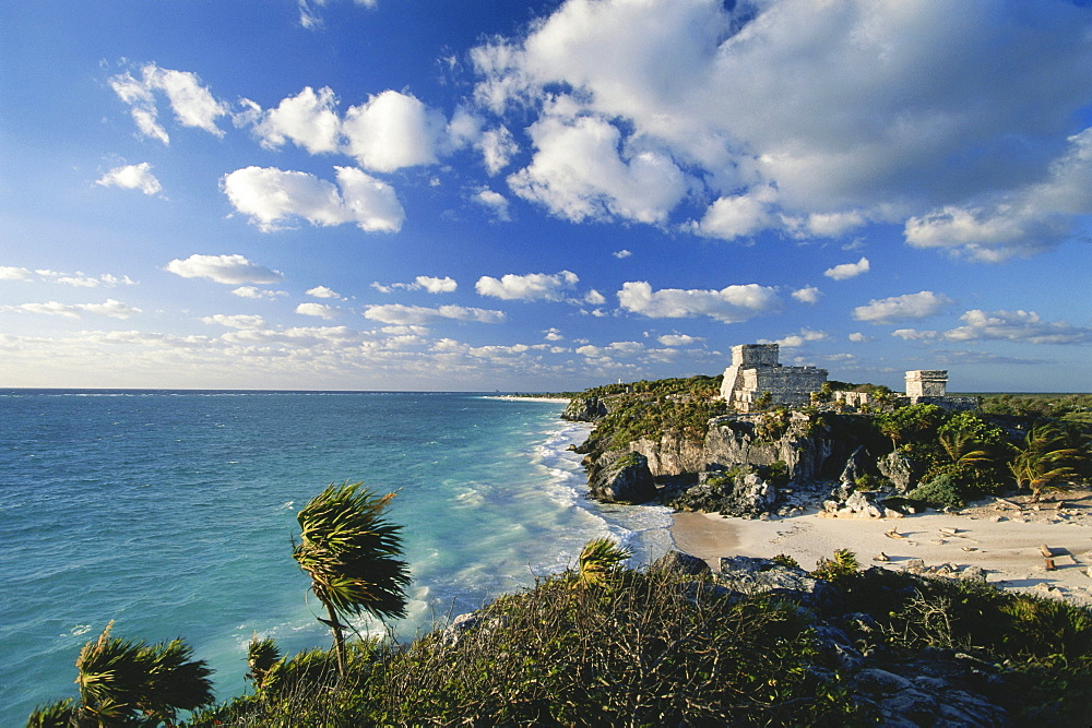 Ancient Mayan city Tulum, Quintana Roo, Yucatan, Mexico