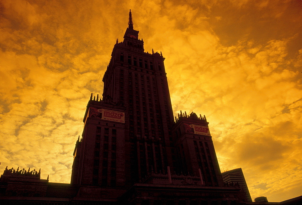 Palace of Culture & Science in Warsaw, Warsaw, Poland