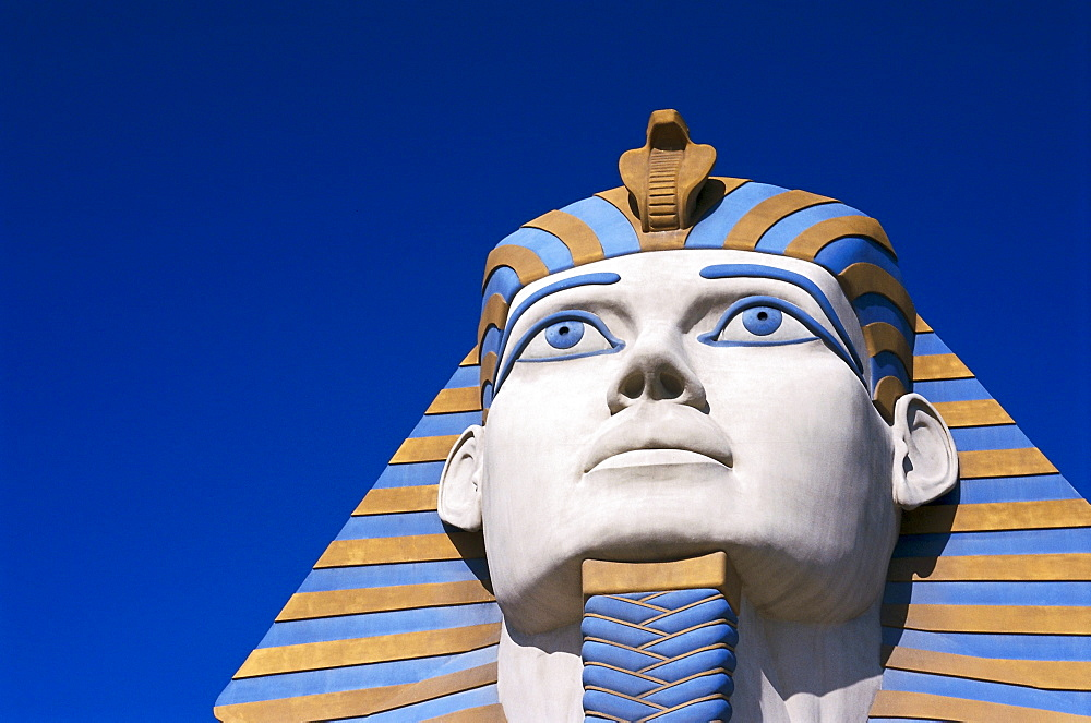 Detail of the Luxor Hotel, Las Vegas, Nevada, USA, America