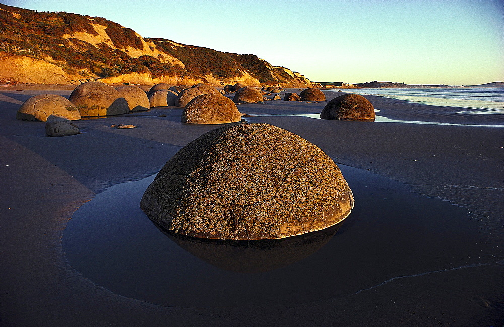 Moeraki Boulders near Dunedin, South Island, New Zealand - 1113-60882