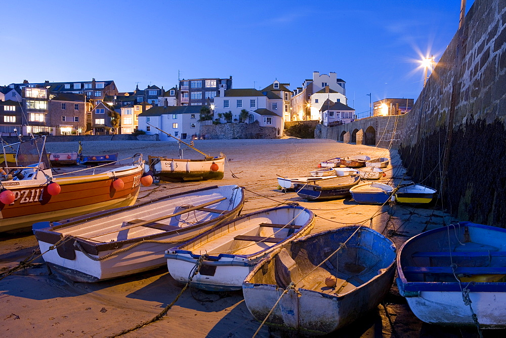 Europe, England, Cornwall, Harbour in St Ives