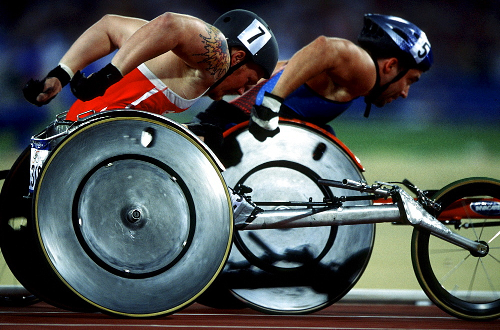 Wheelchair discipline, Paralympic Games