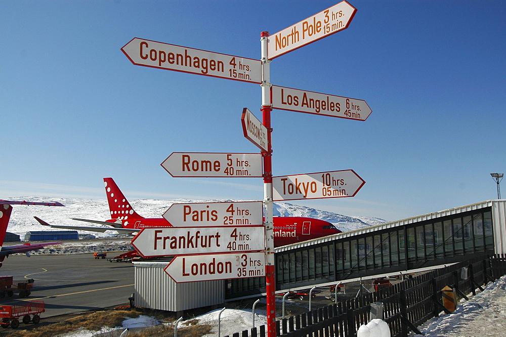 Airport, Kangerlussuaq, Greenland