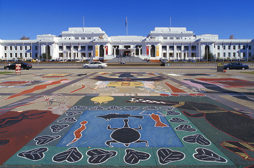Old Parliament House, Provisional Parliament House, Canberra, Western Australia, Australia