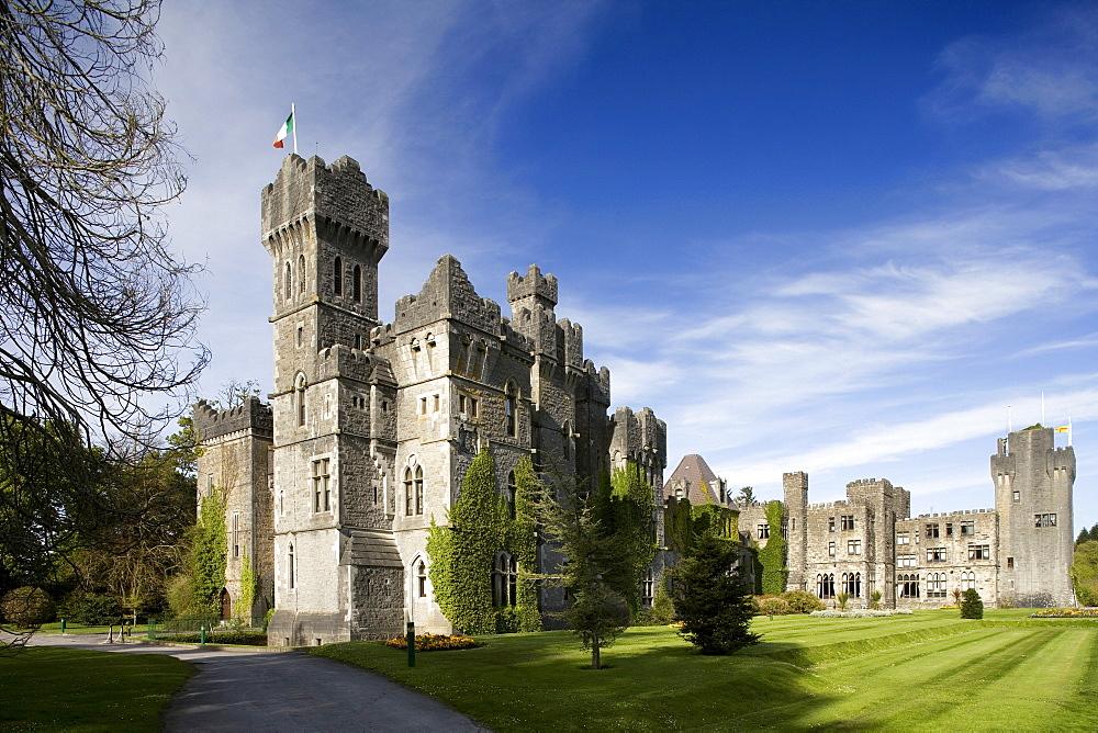 Ashford Castle near Cong, County Mayo, Ireland, Europe