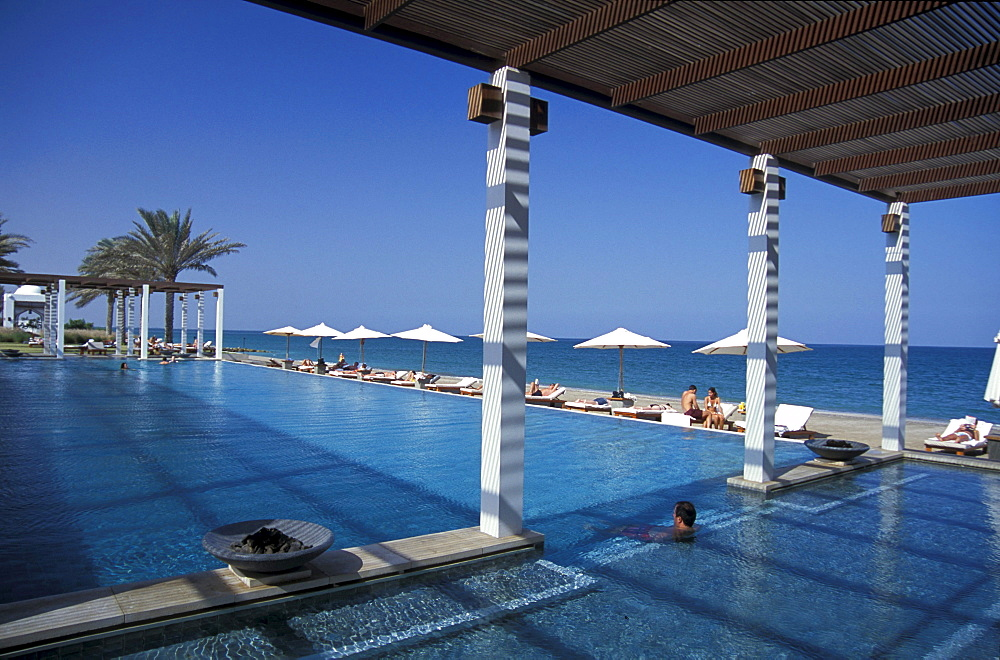Chedi Pool, The Chedi Hotel, Muscat, Oman