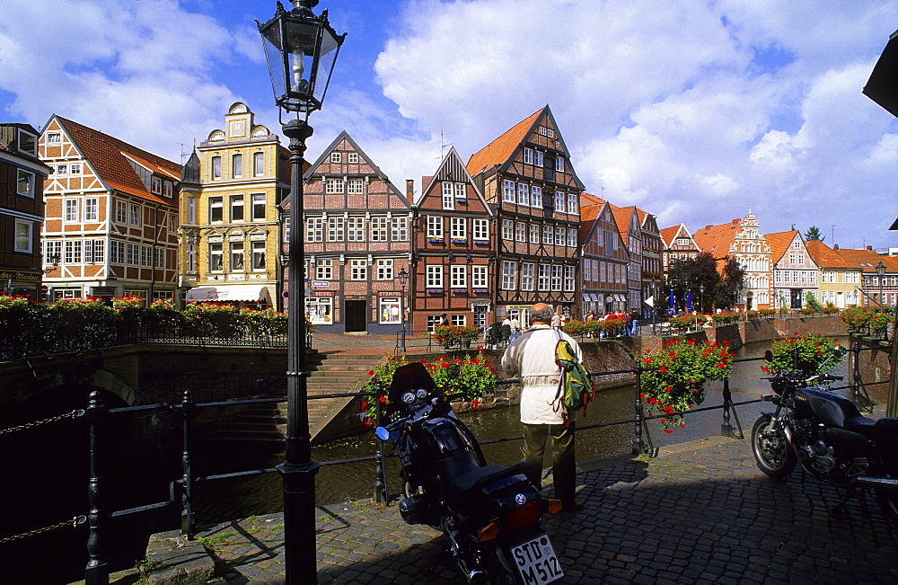 Europe, Germany, Lower Saxony, the historic town centre of Stade