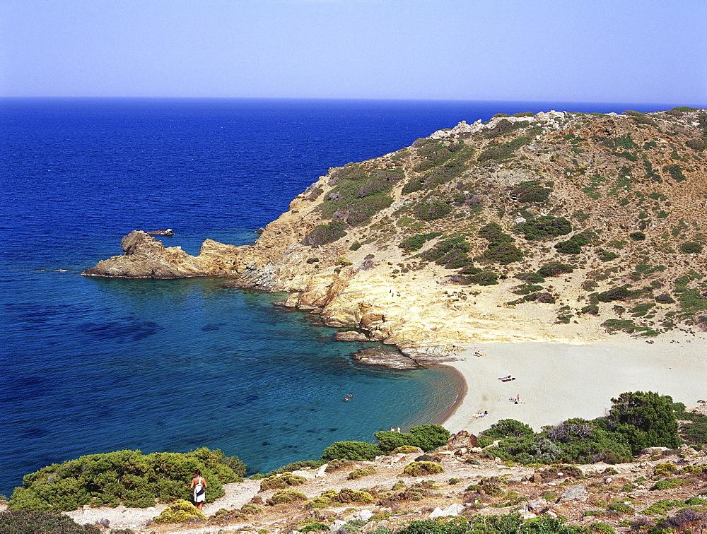 Beach near Vai Finikodasos, Crete, Greece