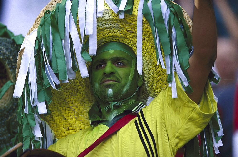 Football fan from Saudia Arabia - 1113-66671