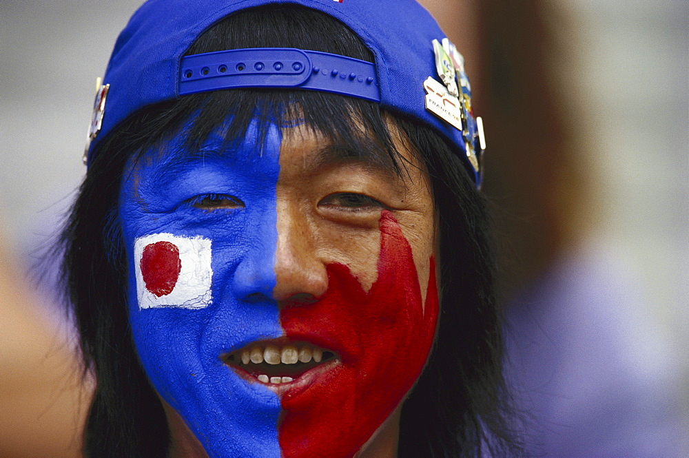 Japanese football fan - 1113-66672