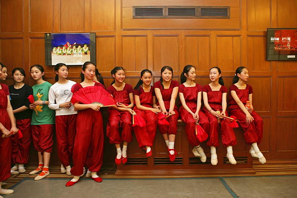 dance class for talented children, Children's Palace, Shanghai
