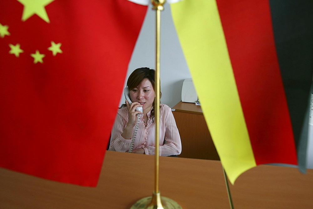 secretary, German company, LENZE AG, Shanghai - 1113-67736