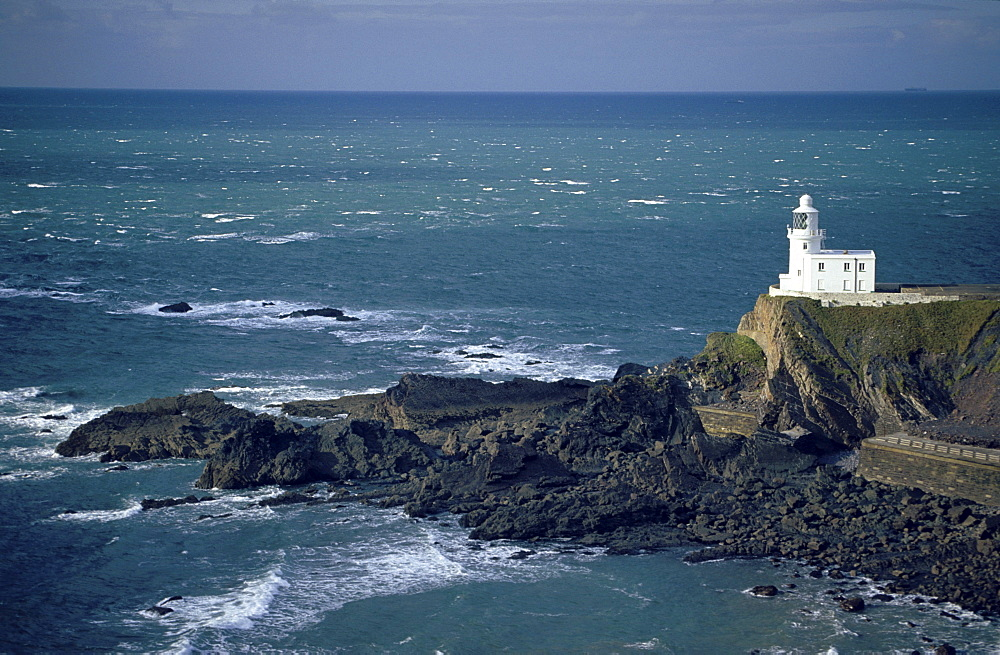 Lighthouse, Hartland Point, Devon, England00058404