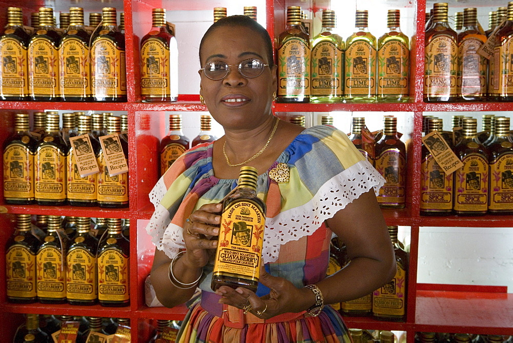 Guavaberry Liqueur Shop, Philipsburg, St. Maarten, Netherlands Antilles