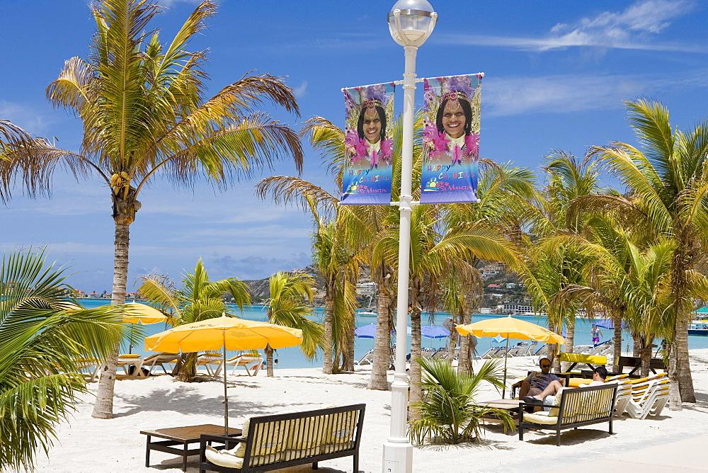 Great Bay Beachfront, Philipsburg, St. Maarten, Netherlands Antilles