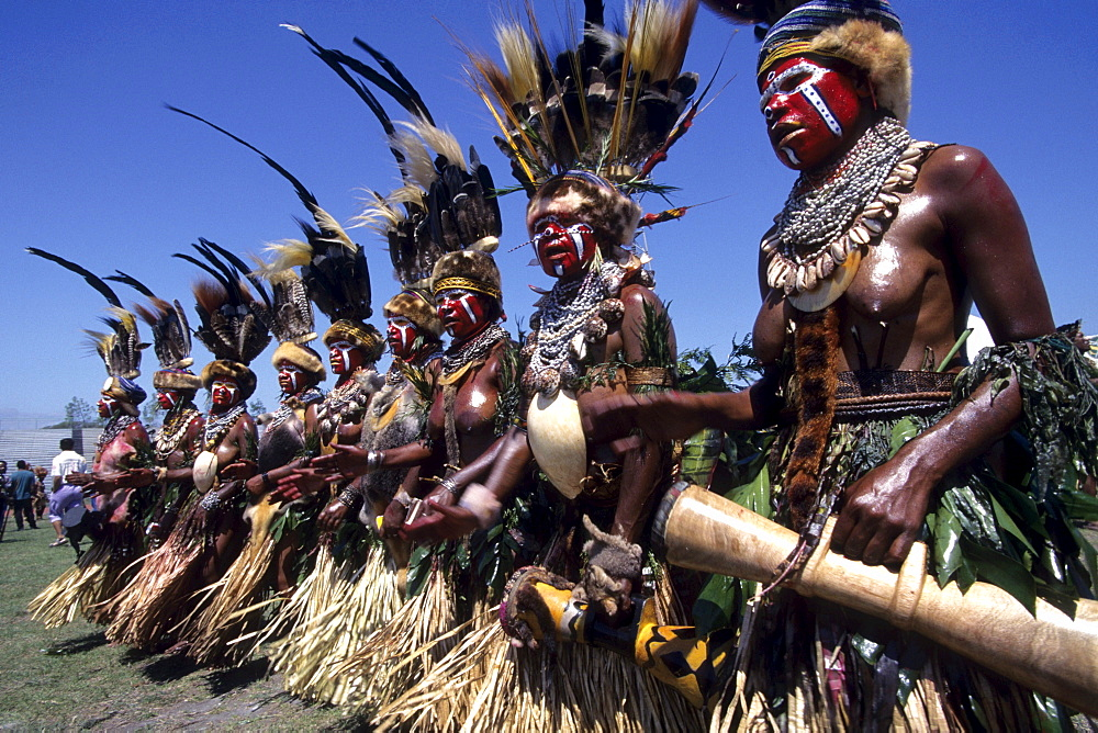 Papua New Guineans, Port Moresby Cultural Festival, Port Moresby, Papua New Guinea