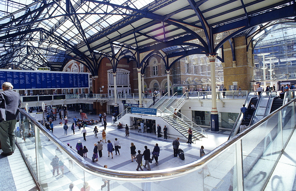 Europe, Great Britain, England, London, Liverpool Street Station