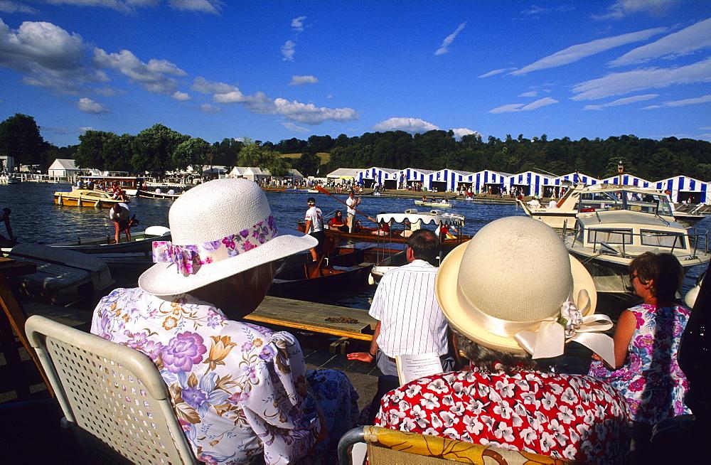 Europe, England, Oxfordshire, Henley-on-Thames, Henley Royal Regatta
