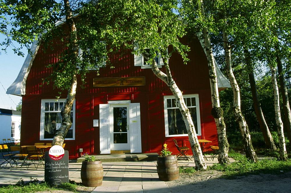 Framehouse, Vitte, Hiddensee Island, Mecklenburg-Western Pomerania, Germany, Europe
