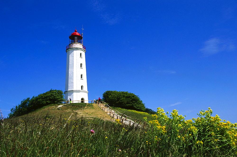Lighthouse, Hiddensee Island, Mecklenburg-Western Pomerania, Germany, Europe