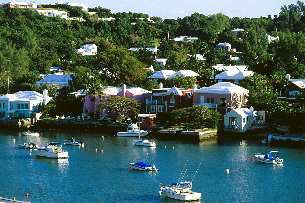 View of Hamilton Harbour, Hamilton, Bermuda