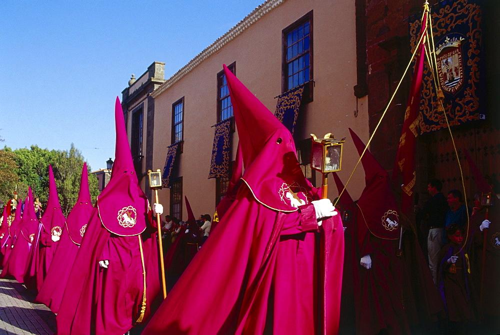 Procession magna, Semana Santa, La Laguna, Tenerife, Canary Islands, Spain